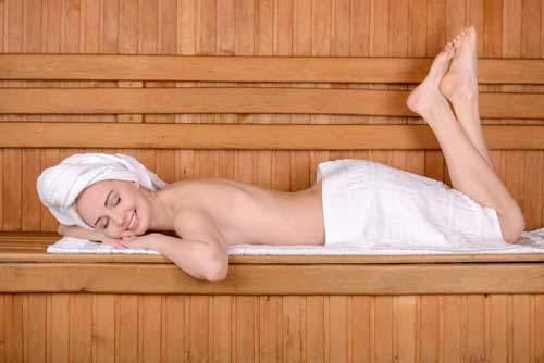 Der Sauna-Gang als Beauty-Bringer!